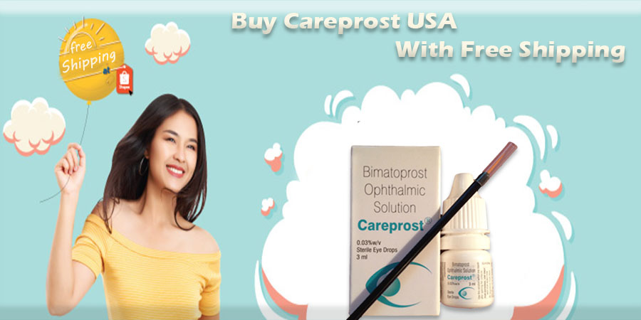 How to buy Careprost USA with Free Shipping?