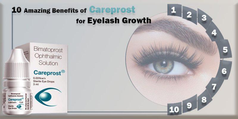 10 Amazing Benefits of Careprost for Eyelash Growth